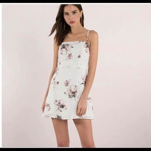 Becca White Multi Floral Dress
